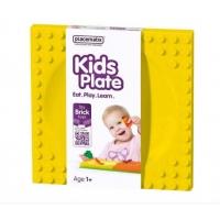 Farfurie Hranire Placematix Pentru Copii, Galben