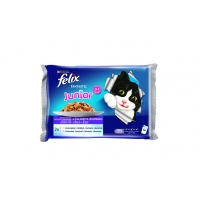 Felix Fantastic Junior Multipack, 4 x 100 g
