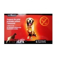 Fiprex Dog, 75 L, 3 pipete