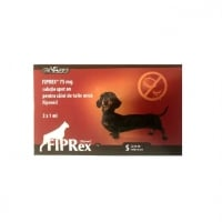 Fiprex Dog, 75 S, 3 pipete
