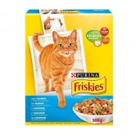 FRISKIES CAT SOMON SI LEGUME, 300 G