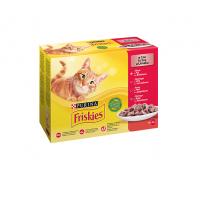 Friskies Multipack Pui, Vita, Miel, Rata, 12 x 85 g
