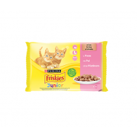 Plic Friskies Junior Pui, 4 x 85 g
