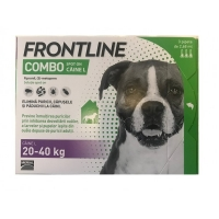 Frontline Combo L Caine 20 - 40 kg, 3 pipete