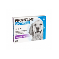 Frontline Spot-On Caini L, 20-40 kg, 3 pipete