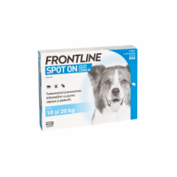 Frontline Spot-On Caini M, 10-20 kg, 3 pipete