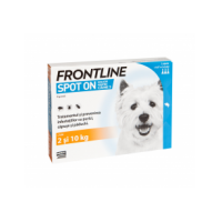 Frontline Spot-On Caini S, 2-10 kg, 3 pipete