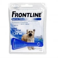 Frontline Spot-On Caini M, 10-20 kg, 1 pipeta