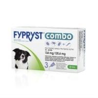 Fypryst Combo Dog M (10-20kg) x 3 pip