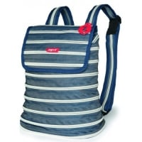 Rucsac  ZIP..IT - jeans/argintiu