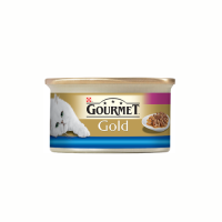 Gourmet Gold Cuburi Peste si Spanac in Sos 85 g