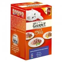 Gourmet Mon Petit cu Ton 6 x 50 g