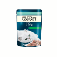 Gourmet Perle Pastrav si Spanac 85 g
