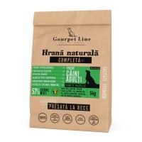 GOURPET LINE, Miel, pachet economic hrană uscată presată la rece fără cereale câini, 5kg x 2