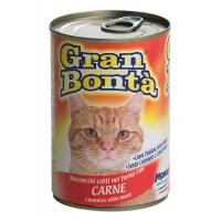 Gran Bonta Pisica cu Bucati de Carne de Vita 400 g
