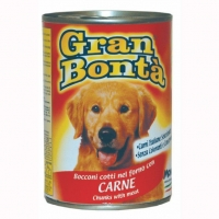 Conserva Gran Bonta pentru Caini cu Vita, 400 g