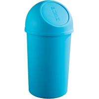 Cos plastic cu capac, pentru reziduuri, 25 litri, HELIT - verde