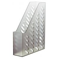 Suport vertical plastic pentru cataloage HAN - transparent fumuriu