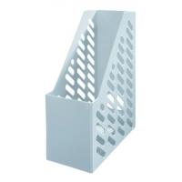 Suport vertical plastic pentru cataloage HAN XXL - gri deschis