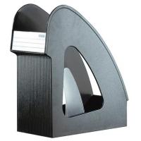 Suport vertical plastic pentru cataloage HAN Galaxy - negru