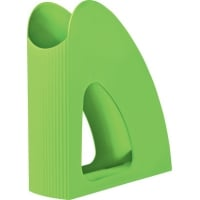 Suport vertical plastic pentru cataloage HAN Twin i-Colours - verde
