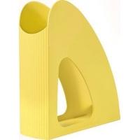Suport vertical plastic pentru cataloage HAN Twin i-Colours - galben