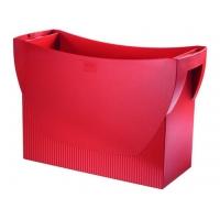 Suport plastic pentru 10 dosare suspendabile, HAN Swing - rosu