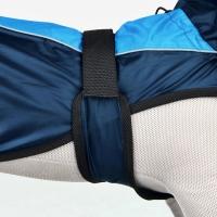 Hainuta Trixie Raincoat XS, 35 cm, Albastru