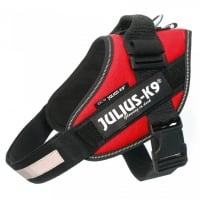 Ham Julius K9, IDC POWER, marimea mini, 7-15 kg, Rosu