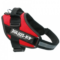 Ham Julius K9, IDC POWER, marimea mini, 7-15 kg, Rosu
