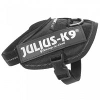 Ham Julius K9, IDC POWER, marimea M-Mini, 4-7 kg, Negru