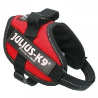 Ham Julius K9, IDC POWER, marimeaM-Mini, 4-7 kg, Rosu