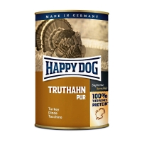 Happy Dog Conserva cu Curcan, 400 g