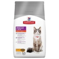 Hill's SP Feline Adult Sensitive Stomach & Skin, 400 g