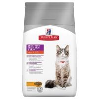 Hill's Feline Adult Sensitive Stomach & Skin, 400 g