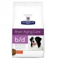 Hill's PD Canine b/d Imbatranirea Creierului, 12 kg