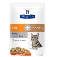 Hill's PD Feline k/d Afectiuni Renale + Mobility, 85 g