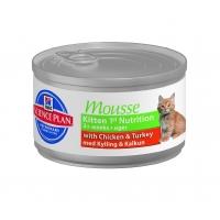 Pachet 5 Conserve Hill's SP Feline Kitten Mousse 85 g