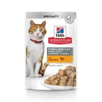 Hill's SP Feline Young Adult Sterilised Plic Pui, 85 g