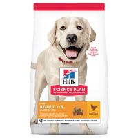 Pachet 2 x Hill's SP Canine Adult Light Large Breed Pui, 14 Kg
