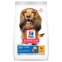 Pachet 2 x Hill's SP Canine Adult Oral Care Pui, 12 Kg