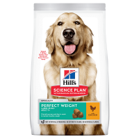 Pachet 2 x Hill's SP Canine Adult Perfect Weight Large Breed Pui, 12 Kg