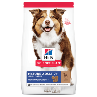 Hill's SP Canine Mature Medium Miel si Orez, 14 Kg