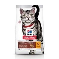 Hill's SP Feline Adult Hairball & Indoor, 3 kg