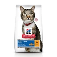 Hill's Science Plan Feline Adult Oral Care Pui, 1.5 Kg