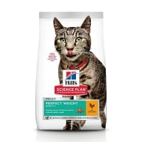 Hill's SP Feline Adult Perfect Weight cu Pui, 2.5 Kg