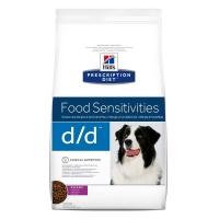 Hill's PD Canine d/d cu Rata si Orez, Alergii la Mancare, 12 kg