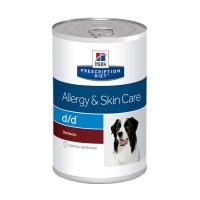 Hill's PD Canine d/d cu Vanat -Alergii la Mancare 370 g