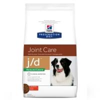 Hill's PD Canine j/d Reduced Calorie cu Pui, 12 kg