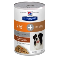 Hill's PD Canine K/D + Mobility Chicken&Veggie Stew 354 g